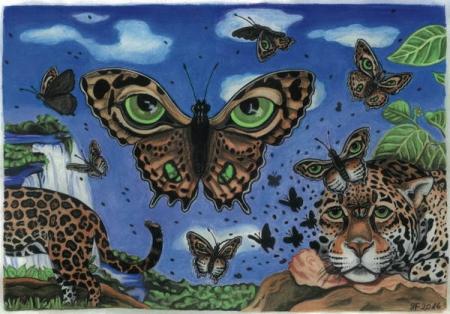 Die Geburt des Jaguarfalters, 2016