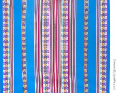 Decke - Aguayo Hell Blau