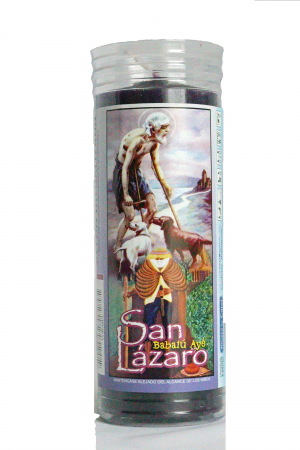 Kerze Orisha San Lazaro