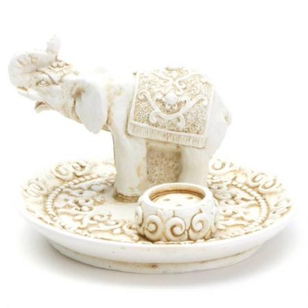 Räucherstäbchenhalter Elefant