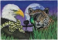 Die vier Tier-Archetypen