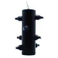 7 Mechas Candle Black (Dissolves spells and curses)