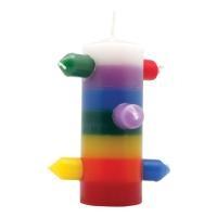 7 Mechas Kerze - Tumba Trabajo 7 Colores
