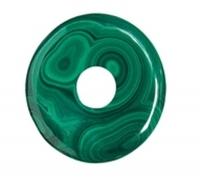 Pi-Stein Donut Malachit 3cm