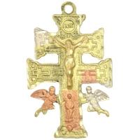 Cruz de Caravaca + Cristo Tumbaga