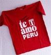 T-Shirt  Te Amo Peru